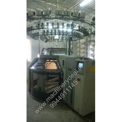 Single jersey Mayer & cie used knitting machine
