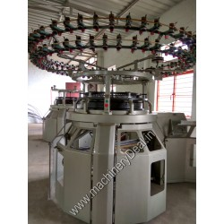 Single jersey UNITEX used knitting machine