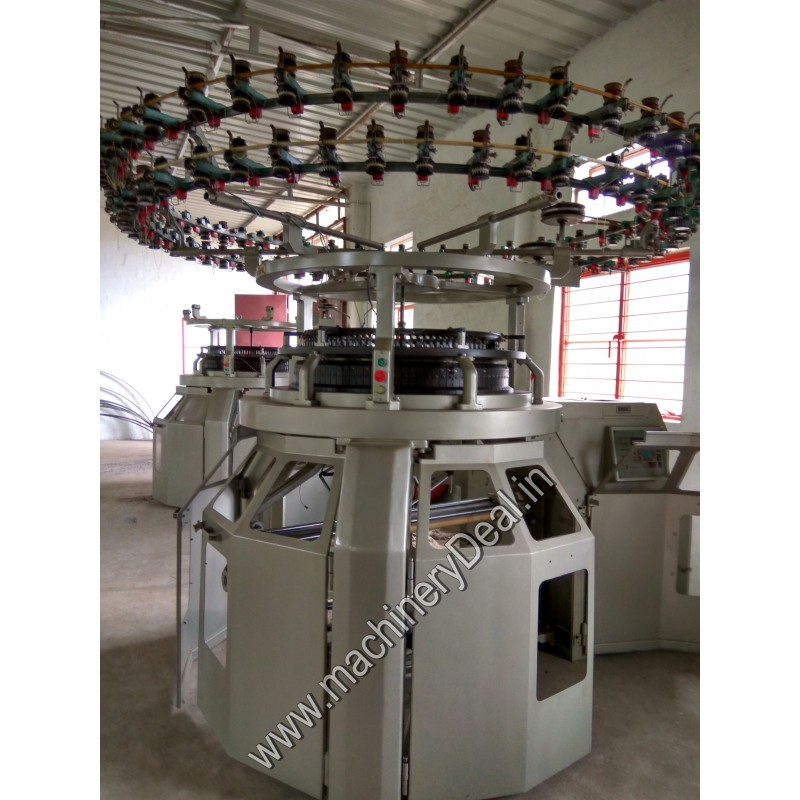 Knitting Machines : Single jersey unitex used knitting machine knit expert