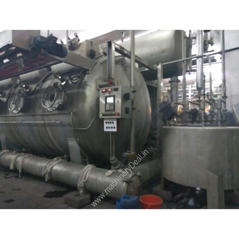 900 kgs DILMENLER - DMS Turkey make HT/HP soft flow Dyeing machine