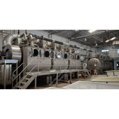THEN Air flow Dyeing machine 1200 kgs